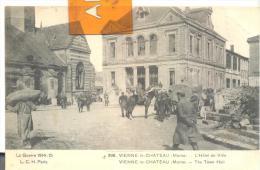 La Guerre 1914 - 15    VIENNE - Le - CHATEAU  - L'Hotel De Ville , Trés Bon état ( Voir Scan ) - Francia