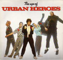 * LP *  URBAN HEROES - THE AGE OF (Germany 1981 EX-!!!) - Rock