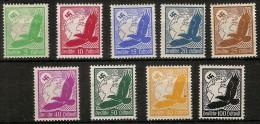 Alemania Imperio Aereo 46/51 * Foto Exacta. 1931. Charnela Algun Sello Con Oxido - Ungebraucht