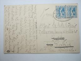 1921 , Oberschlesien , Bahnpostbeleg - Deutschland