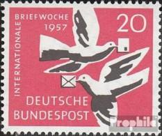 BRD (BR.Deutschland) 276 (kompl.Ausgabe) Postfrisch 1957 Internationale Briefwoche - Nuovi