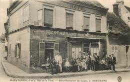 MAINTENON  Hotel Restaurant Du Cygne   J  BERTRAND - Maintenon