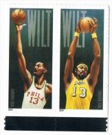 USA 2014 ##4950/51 Wilt Chamberlain MNH ** 0.49c X 2 Basketball - Used Stamps