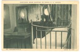 Compagnie Belge Maritime Du Congo S. A. ANVERS  --  S.S. ELISABETHVILLE   --  Cabine De Luxe - Antwerpen