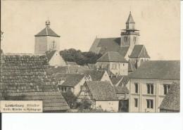 67-LAUTERBURG MITTELTOR RARE - Lauterbourg