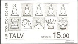 Dänemark - Färöer MH1 (kompl.Ausg.) Postfrisch 1983 Schachfiguren - Féroé (Iles)
