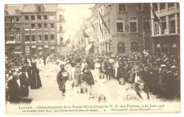 LOUVAIN  ----  N.D. Des Fièvres- Le Cortège Historique 16 Juin 1907  -   La Présentation De Jésus Au Temple - Leuven