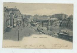Genève (Suisse, Genève) : Quai De Seujet En 1903 (animé) PF. - GE Ginevra
