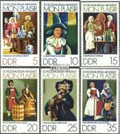 DDR 1975-1980 (kompl.Ausgabe) Gestempelt 1974 Schloßmuseum - DDR