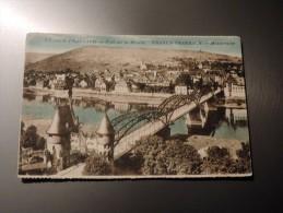 Carte Postale Ancienne : TRABEN TRARBACH : Pont Sur La Moselle En 1925 - Traben-Trarbach