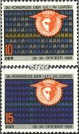 DDR 1515-1516 (kompl.Ausgabe) Postfrisch 1969 Internationaler Messeverband - DDR