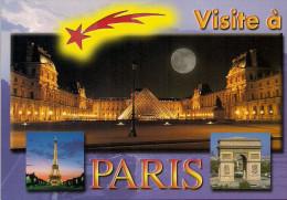 75 -  Carte à Trou, PARIS - Unclassified