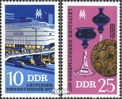 DDR 2250-2251 (kompl.Ausgabe) Postfrisch 1977 Herbstmesse - Nuovi