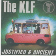 """The KLF: Justified And Ancient   /  Justified And Ancient (""""the White Room-version)  - Blow Up 110930 - Disco, Pop"""