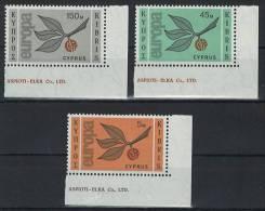 Zypern Cyprus 258-260 Postfr. EUROPA CEPT AB-O00666 - Unclassified