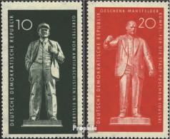 DDR 772-773 (kompl.Ausg.) Postfrisch 1960 Denkmäler - DDR