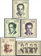 DDR 918-922 (kompl.Ausgabe) Postfrisch 1962 Antifaschisten - DDR