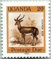 N° Yvert 26 - Timbre De Service - Ouganda (1985) - (MNH) - Animaux (Faune)  - Uganda Kob (JS) - Uganda (1962-...)