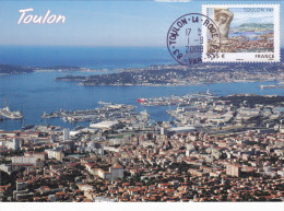 Carte-Maximum FRANCE N° Yvert 4257 (TOULON) Obl Ord Toulon La Rode (Ed Aris) - Maximum Cards