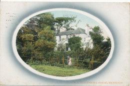 PC17864 R. L. Stevensons House. Swanston. Valentines Series. 1910 - Royaume-Uni