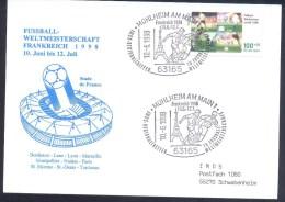 Germany 1998 Card: Football Fussball Calcio Soccer World Cup France 1998; Stade De France Host Cities - 1998 – Francia
