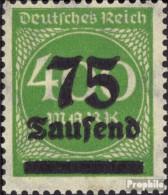 Deutsches Reich 287b Geprüft Postfrisch 1923 Infla-Marken - Germany
