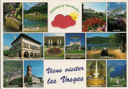 88 -  Carte à Trou, VOSGES (Gérardmer, Longemer, Plombières, St-Dié, Epinal, Vittel, Contrexéville, Cornimont, Bruyères) - Unclassified