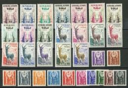 Togo // Lot De Timbres Neufs ** - Togo (1960-...)