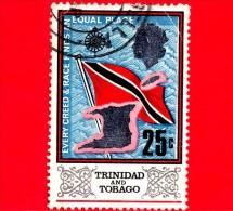 TRINIDAD & TOBAGO - USATO - 1969 - Bandiera E Mappa - 25 - Trindad & Tobago (1962-...)