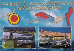 Carte à Trou, LA COTE D'AZUR - Provence-Alpes-Côte D'Azur