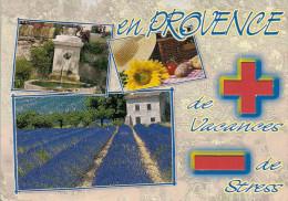 Carte à Trou, LA PROVENCE - Provence-Alpes-Côte D'Azur
