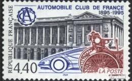 Frankreich 3116 (kompl.Ausg.) Gestempelt 1995 ACF - Frankreich