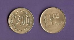 MALAYA 1967-1988 Coin 20 Sen KM4 - Malaysia