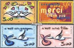 Frankreich 3371-3374 (kompl.Ausg.) Gestempelt 1999 Grußmarken - France