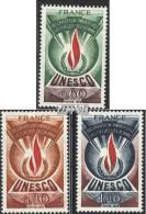 Frankreich DB13-DB15 (kompl.Ausg.) Postfrisch 1975 UNESCO-Emblem - Service