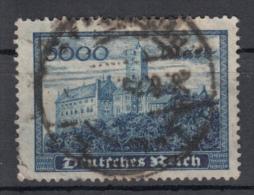 Deutsches Reich - Mi. 261 (o) - Oblitérés