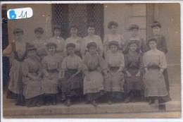 18-BOURGES-- CARTE-PHOTO--GROUPE DE FEMMES-TOP- PHOTO RETY -BOURGES - Bourges