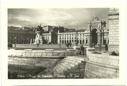 Foto - (Compagnia  Fotocelere) Lisboa - Praça Do Comercio - Estatua A D. José I - Places