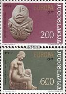 Jugoslawien 1557-1558 (kompl.Ausg.) Postfrisch 1974 Skulpturen - 1945-1992 Sozialistische Föderative Republik Jugoslawien