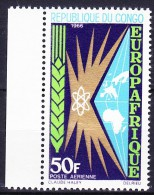 CONGO Poste Aerienne 1966 YT N° PA 40 ** - Congo - Brazzaville