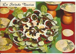 CPSM Recette Salade Niçoise - Recipes (cooking)