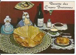 CPSM Recette Des Crepes Bretonnes - Recipes (cooking)