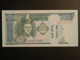Billet - Mongolie - Valeur Faciale : 10 Tögrög- Jamais Circulé - Année ?? - Motif : Chevaux Et Sukhe Bataar - Mongolia