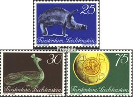 Liechtenstein 536-538 (kompl.Ausg.) Postfrisch 1971 Landesmuseum - Ungebraucht