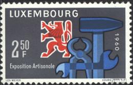 Luxemburg 622 (kompl.Ausg.) Postfrisch 1960 Handwerksausstellung - Luxemburg