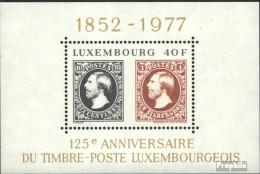 Luxemburg Block10 (kompl.Ausg.) Postfrisch 1977 Briefmarken - Blocks & Kleinbögen