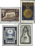 Österreich 1247,1248,1249,1250 (kompl.Ausg.) Gestempelt 1967 Wien, Kunst, Reformation, Kataster - 1945-.... 2. Republik