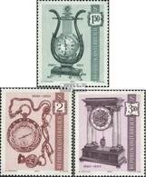 Österreich 1344-1346 (kompl.Ausg.) Gestempelt 1970 Alte Uhren - 1945-.... 2. Republik