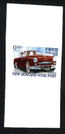 New Zealand Wine Post 2009 Missing Yellow On Car Of Card - Nouvelle-Zélande
