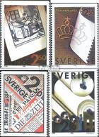 Schweden 1625-1628 (kompl.Ausg.) Postfrisch 1990 Papierfabrikanten - Unused Stamps